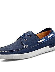 Men's Shoes Outdoor / Office & Career / Party & Evening / Casual  Boat Shoes Blue / Brown / Green /
