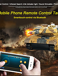 Newest Remote Control Toys Battle RC Tank Control via Mobile Phone Bluetooth Super Power RC Toy
