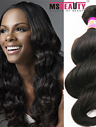 """1 pc / lot 12 """"-30"""" 7a malaysisches reines Haar lose Welle Menschenhaareinschlagfäden 100% unverarbeitetes malaysischer remy Haar spinnt"""