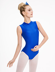 Turtle-Neck with buckle Nylon/Lycra Leotards More Colors for Girls and Ladies