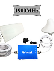 Lintratek® UMTS 1900MHz Cell Phones Signal Booster GSM 1900 Repeater Home Use Upgrade Version Full Kits