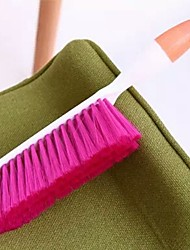 ziqiao многофункциональный бытовой очистки толстых конфеты цвета пластик очистки кровать щетка щетка (случайные цвета)