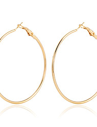 Earring Hoop Earrings Jewelry Women Alloy / Gold Plated 2pcs Gold / Rose Gold