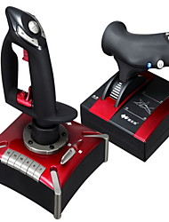 PXN®-2119 Built-In Motor Supports Vibration Flying Joystick Left & Right Hand Rod USB Game Controller