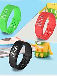 sport W6 podomètre de santé de charge intelligente usb de bracelet portable conduit montre bracelet remise en forme tracker silicone