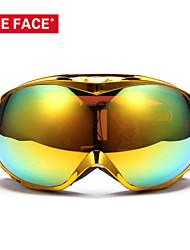platean las gafas de esquí marco niceface de snowboard de doble lente gafas de esquí snowboard gafas de protección nf266