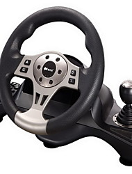 PXN®-V66 Dual Shock Rechargeable Wired Racing Wheel Game Controller for PC