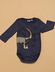 Tee-shirts Unisexe Hiver Manches longues Coton Moyen Micro-élastique