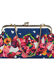 Flower Design Fashion Ladies Clutches