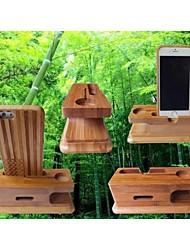 бамбуковые мобильные телефоны / Apple часы держатель многофункциональную