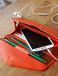 The new fashion is natural long multi-function envelope in the wallet capacity mobile phone packages