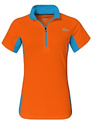 Women Sport Casual Outdoor Quick-drying Short Sleeve Tshirt Climbing Hiking Wading Fishing Clothing