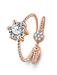 Anel Feminino Multilayer Wedding Crystal Water Drop Ring Anillos Mujer Fine Jewelry Zircon Rings For Women