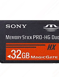 Sony 32GB Class 10 Memory Stick PRO DuoMax Read Speed50 (MB/S)Max Write Speed50 (MB/S)