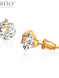Stud Earrings Crystal Crystal Birthstones Cross Jewelry Wedding Party Daily Casual 1pc