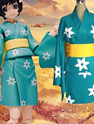 Araragi Tsukihi/Kimono/Yukata/Cos/Cosplay Costume