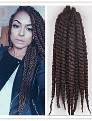 2Pcs/Pack 120G/Pcs Crochet Havana Twist Braid 2X Mambo Twist Hair Braid Kanekalon Fiber