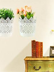 Storage Rack Wall Decoration Flower Basket Inserted Simulation