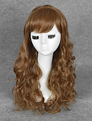 Harry Potter Hermione Jean Granger cosplay wig womens long brown Wavy wigs New Free wig cap