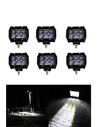 6x 30W LED Work Light Bar Offroad 12V 24V ATV SPOT Offroad for  Truck 4x4 UTV