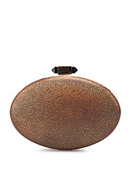 Women's Egg Shape PU Party Evening Bag Clutch Purse