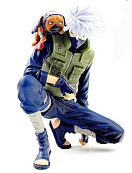 Go Naruto Sasuke Kakasi Large Soft Helmet Detachable Doll PVC Anime Action Figure Model Toy