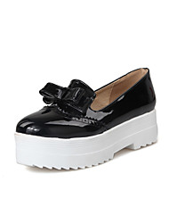Women's Shoes Leatherette Platform Platform Heels Casual Black / Red / White