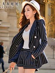Pantalon Aux femmes Shorts Travail Polyester / Spandex Micro-élastique