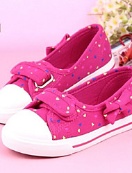 Girl's Spring / Fall Closed Toe Canvas Casual Blue / Pink