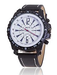 Xu™ Men's Fashionable Outdoor Leisure Sports Leather Quartz Watch Wrist Watch Cool Watch Unique Watch