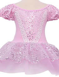Ballet Dresses Children's Performance Cotton / Tulle Lace / Sequins 1 Piece Pink