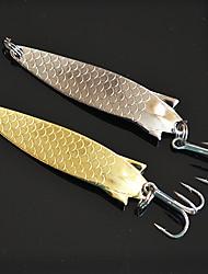 "5pcs pcs Buzzbait & Spinnerbait Köder Verschiedene Farben 9.5g g/1/3 Unze,60mm mm/2-3/8"" Zoll,Metall Spinnfischen"