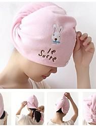 Cute Cartoon Rabbit Magical Super Absorbent Towel Dry Hair Cap