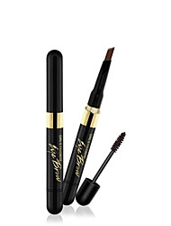 Cream Dye Eyebrow Pencil + Natural Color Combination Lock Lasting Waterproof Makeup