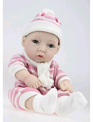 NPKDOLL Reborn Baby Doll Hard Silicone 11inch 28cm Waterproof Toy Sweater Girl