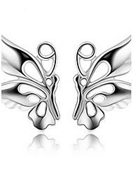 Boucle Boucles d'oreille goujon Bijoux 2pcs Perle / Alliage Femme Blanc