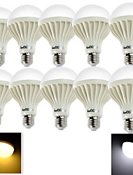 10PCS YouOKLight® E27 5W CRI>70 9*SMD5630 380LM 6000K/3000K Cool White/ Warm White LED Globe Bulbs (AC220-240V)