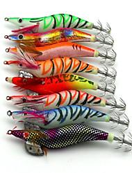 """8pcs pcs Flusskrebse / Garnele Verschiedene Farben 15g g/1/2 Unze,120mm mm/4-11/16"""" Zoll,Holz Spinnfischen"""