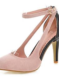 Chaussures Femme - Habillé / Décontracté - Noir / Bleu / Rose / Rouge / Gris - Talon Aiguille - Talons / Bout Pointu - Talons -Laine