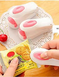 Portable Mini Heat Sealing Machine Impulse Sealer Seal Packing Plastic Bag(Ramdon Color)