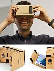 Cardboard VR Virtual Reality Glasses Storm Mirror DIY Kit