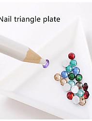 5pcs placa de triángulo de uñas