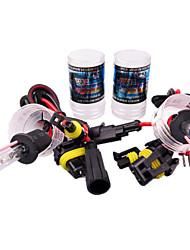 Lousunhid  2PCS HID Xenon H3-5000K-35W Headlamp Headlight for Car