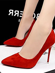 Women's Shoes AmiGirl 2016 New Style Stiletto Heels Wedding/Party/Dress Black/Red/Green