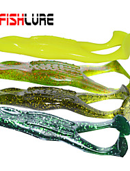 "Afishlure Soft Frog Artificial Fishing Lure 0.015g/<1/18 oz 105mm/4-1/16""4pcs/lot Sea Fishing/Fly Fishing/Bait Casting"