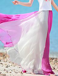 Damen Röcke  -  Strand Maxi Andere Mikro-elastisch