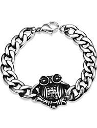 Bracelet - en Acier au titane - Vintage / Soirée / Travail / Décontracté - Lien / Chaîne