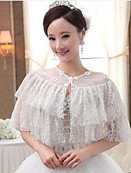 Wedding Tulle Collars Sleeveless Wedding Wraps
