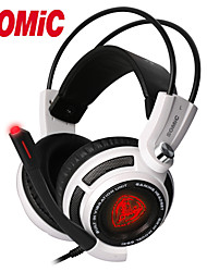 Somic G941 Noise Cancelling Deep Bass 7.1 Surroud USB Vibration LED Professional Gaming Headset/Headphone