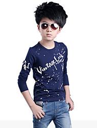 Katoen - Herfst / Lente - Boy's - T-shirt - Lange mouw